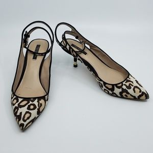 Zara Woman Kitten Heel Sling Back - EUR 38